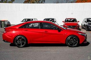 2021 Hyundai i30 CN7.V1 MY21 N Line D-CT Red 7 Speed Sports Automatic Dual Clutch Sedan