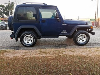2003 Jeep Wrangler TJ MY2003 Sport Blue 5 Speed Manual Hardtop