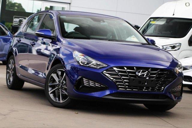 New Hyundai i30 PD.V4 MY21 Elite Oakleigh, 2021 Hyundai i30 PD.V4 MY21 Elite Blue 6 Speed Sports Automatic Hatchback