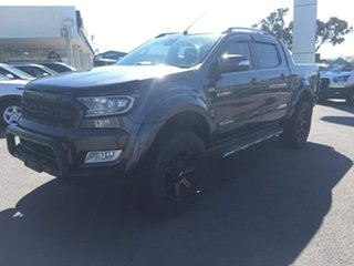 2017 Ford Ranger Wildtrak Grey Sports Automatic Double Cab Pick Up