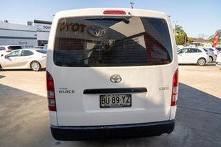2013 Toyota HiAce TRH201R MY12 LWB French Vanilla 4 Speed Automatic Van