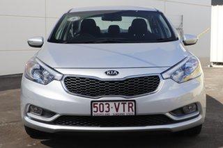 2015 Kia Cerato YD MY15 S Silky Silver 6 Speed Sports Automatic Sedan