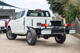 2021 Mazda BT-50 TFS40J XT Freestyle Ice White 6 Speed Manual Cab Chassis