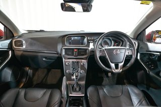 2013 Volvo V40 M Series MY13 D4 Adap Geartronic Luxury Red 6 Speed Sports Automatic Hatchback