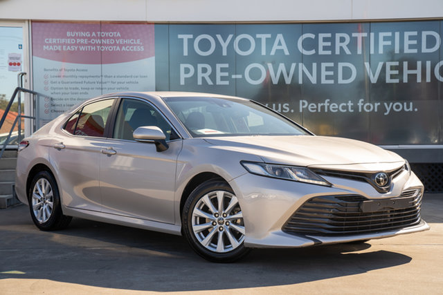 Pre-Owned Toyota Camry ASV70R Ascent Guildford, 2018 Toyota Camry ASV70R Ascent Steel Blonde 6 Speed Automatic Sedan