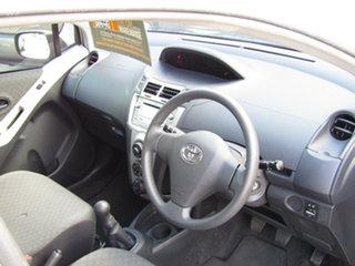 2009 Toyota Yaris NCP90R MY09 YR Adventurine Silver 5 Speed Manual Hatchback