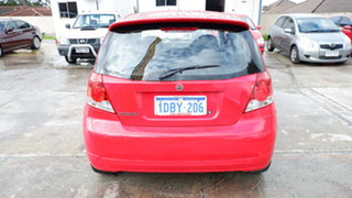 2007 Holden Barina TK MY07 Red 4 Speed Automatic Hatchback