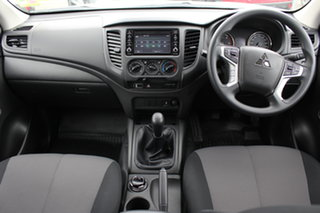 2021 Mitsubishi Triton MR MY21 GLX 4x2 White 6 Speed Manual Cab Chassis.