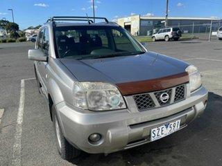 2004 Nissan X-Trail T30 ST (4x4) Silver 5 Speed Manual Wagon.