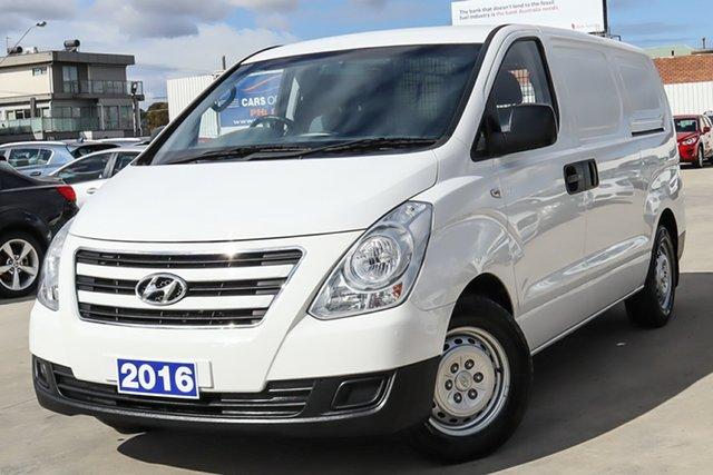 Used Hyundai iLOAD TQ3-V Series II MY16 Coburg North, 2016 Hyundai iLOAD TQ3-V Series II MY16 White 6 Speed Manual Van