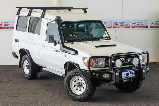 Pre-Owned Toyota Landcruiser VDJ78R MY12 Update GXL (4x4) Rockingham, 2015 Toyota Landcruiser VDJ78R MY12 Update GXL (4x4) French Vanilla 5 Speed Manual