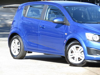 2012 Holden Barina TM Abyss Blue 6 Speed Automatic Hatchback.