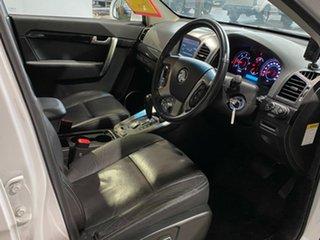 2013 Holden Captiva CG Series II MY12 7 AWD LX White 6 Speed Sports Automatic Wagon
