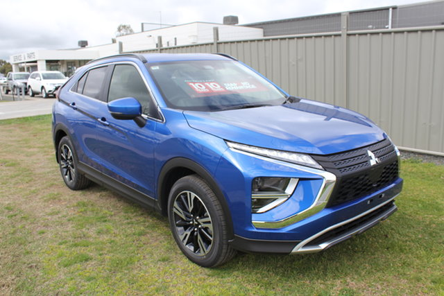 New Mitsubishi Eclipse Cross YB MY21 LS 2WD Echuca, 2021 Mitsubishi Eclipse Cross YB MY21 LS 2WD Blue 8 Speed Constant Variable Wagon