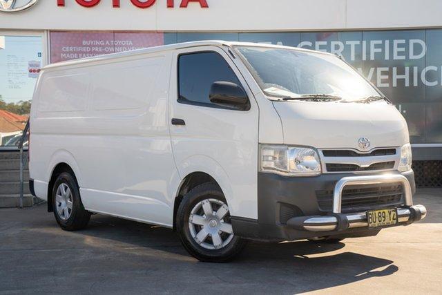 Pre-Owned Toyota HiAce TRH201R MY12 LWB Guildford, 2013 Toyota HiAce TRH201R MY12 LWB French Vanilla 4 Speed Automatic Van