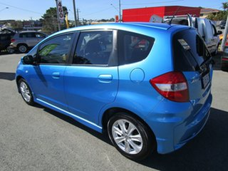 2012 Honda Jazz GE MY12 VTi Blue 5 Speed Manual Hatchback.