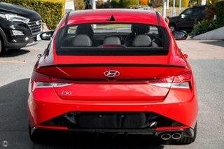 2021 Hyundai i30 CN7.V1 MY21 N Line D-CT Red 7 Speed Sports Automatic Dual Clutch Sedan.