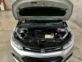 2017 Holden Trax TJ MY17 LS Silver 6 Speed Automatic Wagon