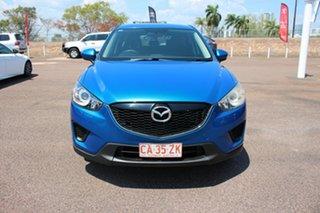 2012 Mazda CX-5 KE1071 Maxx SKYACTIV-Drive Sport Blue 6 Speed Manual Wagon.