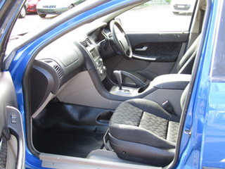 2005 Ford Falcon BA Mk II RTV Super Cab Abyss Blue 4 Speed Automatic Cab Chassis