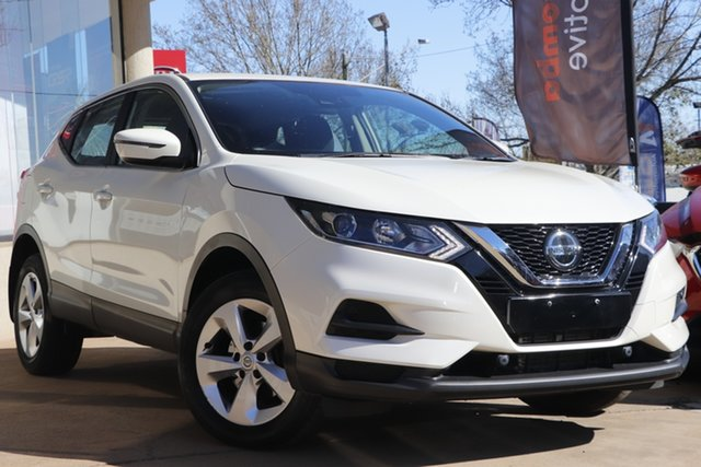 Used Nissan Qashqai J11 Series 3 MY20 ST X-tronic Toowoomba, 2019 Nissan Qashqai J11 Series 3 MY20 ST X-tronic White 1 Speed Constant Variable Wagon