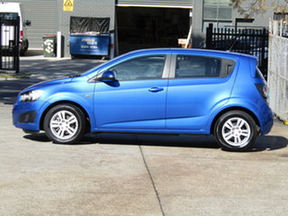 2012 Holden Barina TM Abyss Blue 6 Speed Automatic Hatchback