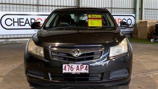 2009 Holden Cruze JG CD Black 5 Speed Manual Sedan