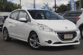 2014 Peugeot 208 A9 MY14 Allure White 4 Speed Automatic Hatchback.