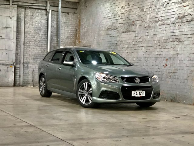 Used Holden Commodore VF MY14 SV6 Sportwagon Mile End South, 2014 Holden Commodore VF MY14 SV6 Sportwagon Prussian Steel 6 Speed Sports Automatic Wagon