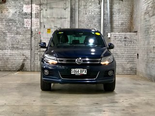 2015 Volkswagen Tiguan 5N MY15 132TSI DSG 4MOTION Blue 7 Speed Sports Automatic Dual Clutch Wagon.