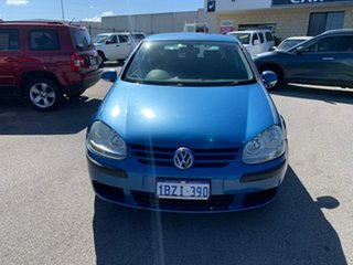 2005 Volkswagen Golf 1K 2.0 FSI Comfortline Blue 6 Speed Tiptronic Hatchback.