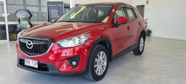 Used Mazda CX-5 Beaudesert, 2013 Mazda CX-5 Red Wagon