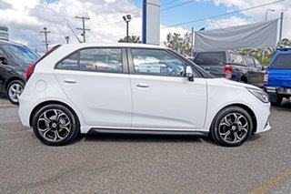 2021 MG MG3 SZP1 MY21 Excite White 4 Speed Automatic Hatchback