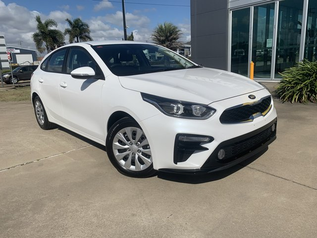 Used Kia Cerato BD MY21 S Townsville, 2020 Kia Cerato BD MY21 S White 6 Speed Sports Automatic Hatchback