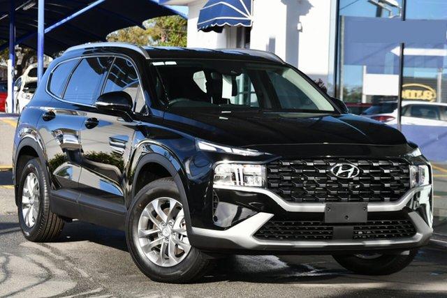 New Hyundai Santa Fe Tm.v3 MY21 DCT Clarkson, 2021 Hyundai Santa Fe Tm.v3 MY21 DCT Lagoon Blue 8 Speed Automatic Wagon