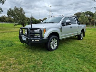 2019 Ford F350 (No Series) Platinum Silver Automatic Utility.