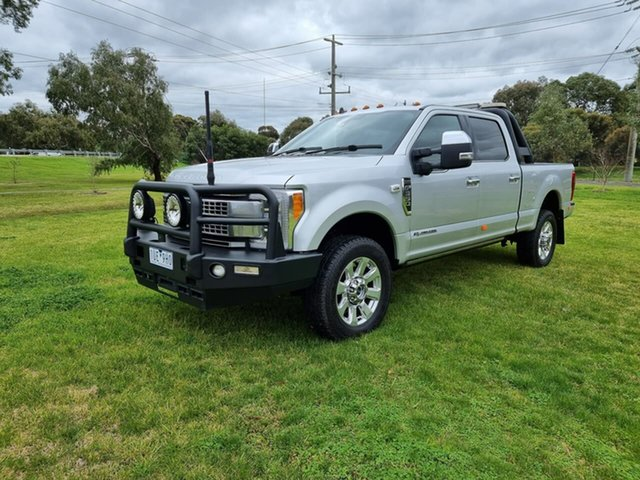 Used Ford F350 Platinum Melton, 2019 Ford F350 (No Series) Platinum Silver Automatic Utility