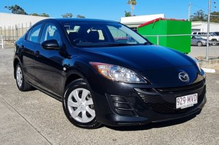 2010 Mazda 3 BL10F1 Neo Activematic Black 5 Speed Sports Automatic Hatchback.