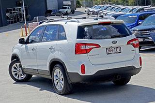 2013 Kia Sorento XM MY13 SLi 4WD White 6 Speed Sports Automatic Wagon.