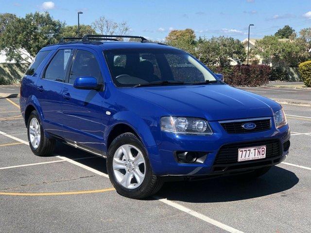 Used Ford Territory SY MkII TS RWD Chermside, 2010 Ford Territory SY MkII TS RWD Blue 4 Speed Sports Automatic Wagon