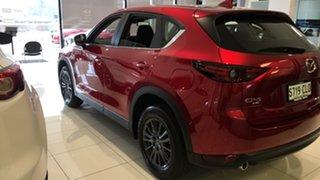 2021 Mazda CX-5 KF4WLA Maxx SKYACTIV-Drive i-ACTIV AWD Sport Soul Red 6 Speed Sports Automatic Wagon.