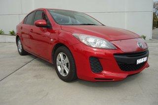 2012 Mazda 3 BL10F2 Neo Red 6 Speed Manual Sedan.