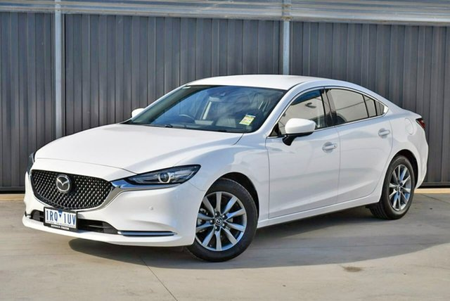 Used Mazda 6 GL1033 Touring SKYACTIV-Drive Pakenham, 2019 Mazda 6 GL1033 Touring SKYACTIV-Drive White 6 Speed Sports Automatic Sedan