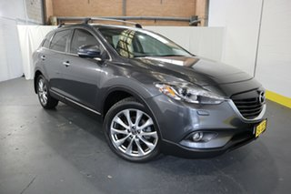 2014 Mazda CX-9 TB10A5 Grand Touring Activematic AWD Black 6 Speed Sports Automatic Wagon