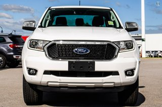 2021 Ford Ranger PX MkIII 2021.75MY XLT White 6 Speed Sports Automatic Double Cab Pick Up.