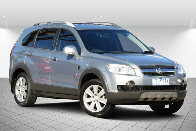 Used Holden Captiva CG MY09 LX AWD Oakleigh South, 2009 Holden Captiva CG MY09 LX AWD Active Grey 5 Speed Sports Automatic Wagon