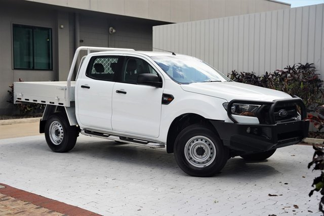 Used Ford Ranger PX MkII XL Cairns, 2017 Ford Ranger PX MkII XL White 6 Speed Sports Automatic Utility