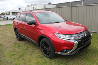 2021 Mitsubishi Outlander ZL MY21 Black Edition 2WD Red 6 Speed Constant Variable Wagon.