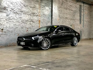 2018 Mercedes-Benz CLS-Class C257 CLS450 Coupe 9G-Tronic PLUS 4MATIC Black 9 Speed Sports Automatic