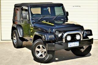 2005 Jeep Wrangler TJ MY2005 Sport Black 6 Speed Manual Softtop.